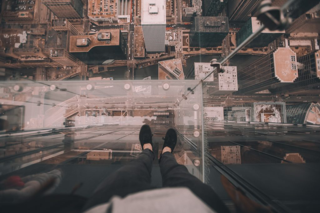 Willis Tower Skydeck.