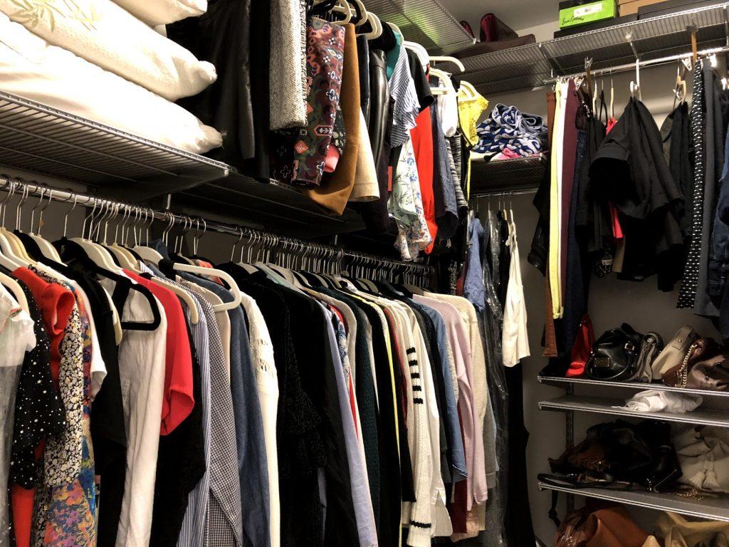 closet with elfa system