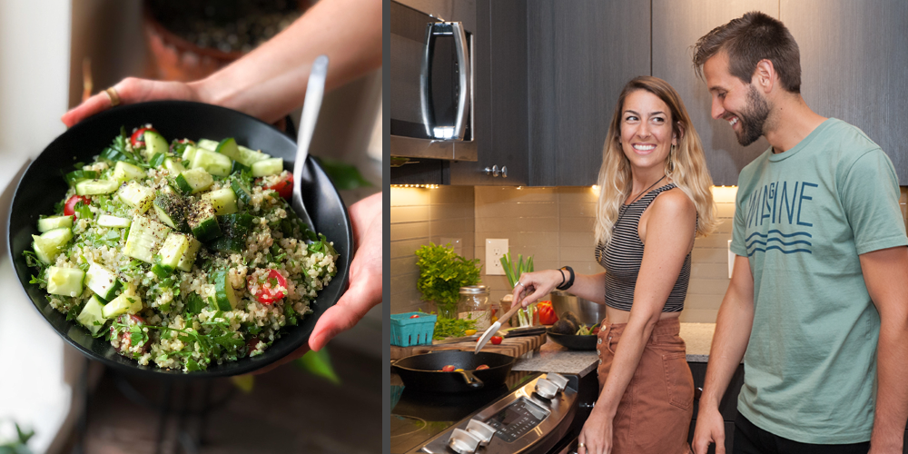 Kitchen Chronicles: Quinoa Tabbouleh