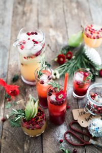 Cranberry drinks