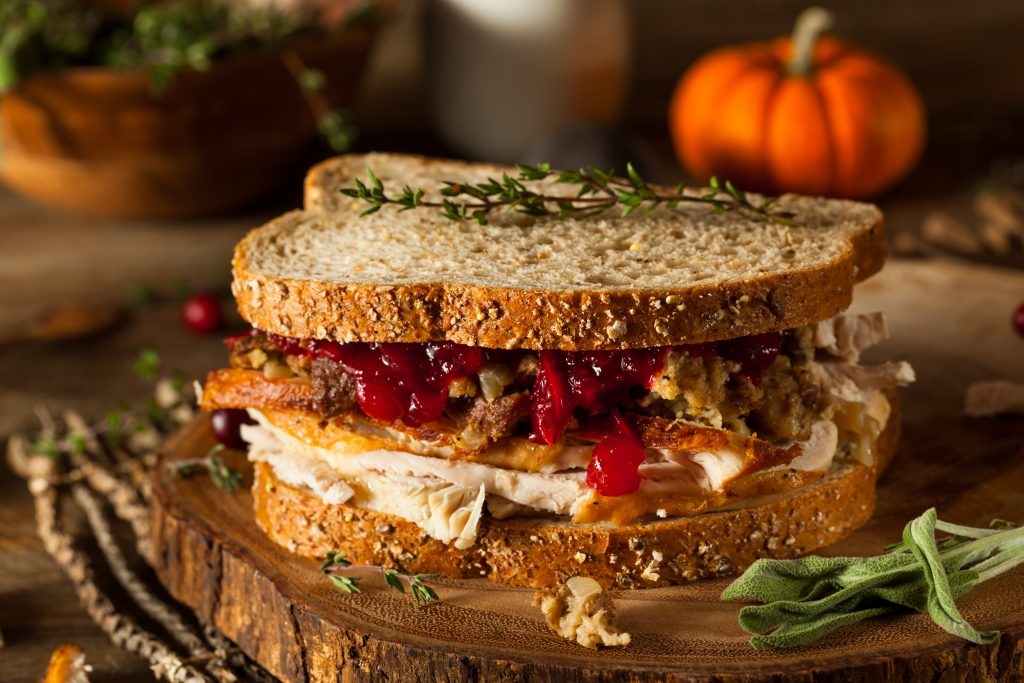 Leftover Thanksgiving Sandwich