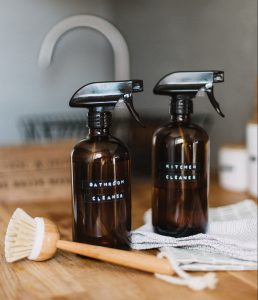 Bathroom and Kitchen cleaning supplies