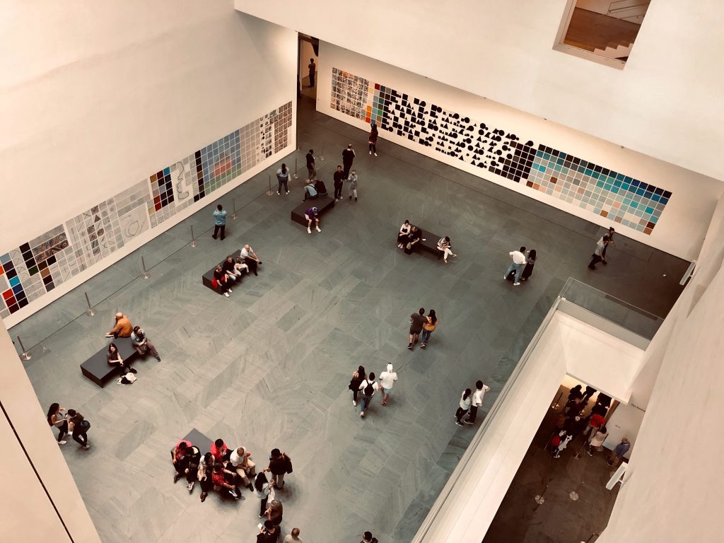 MOMA in New York City, New York.